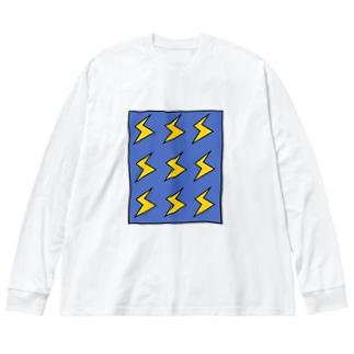 BIRIBIRI Big silhouette long sleeve T-shirts