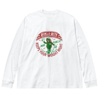 PIKLE RITE_1946 Big silhouette long sleeve T-shirts