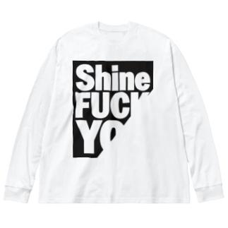 FUC× YO× Big silhouette long sleeve T-shirts