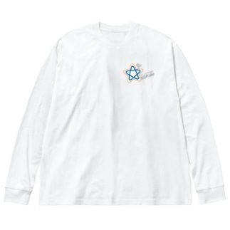 われらは科学特撮研 SSSP.site Big silhouette long sleeve T-shirts