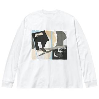KonTon-ConteRock Big silhouette long sleeve T-shirts