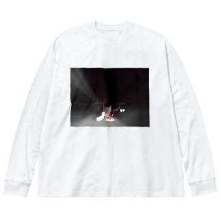 CTRL shopのrun Big silhouette long sleeve T-shirts