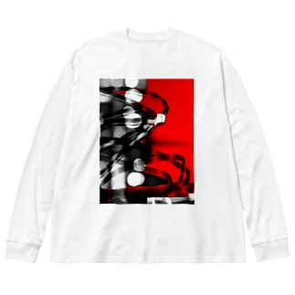 roop Big silhouette long sleeve T-shirts
