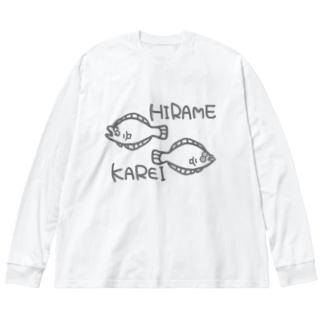 HIRAME KAREI Big silhouette long sleeve T-shirts