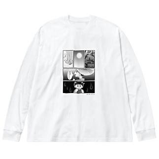 母を戀ふる記_月の涙バージョン 私の潤一郎、実はこんなに可愛いのよ Big Long Sleeve T-shirt