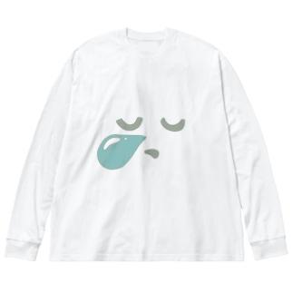 ねるT Big silhouette long sleeve T-shirts