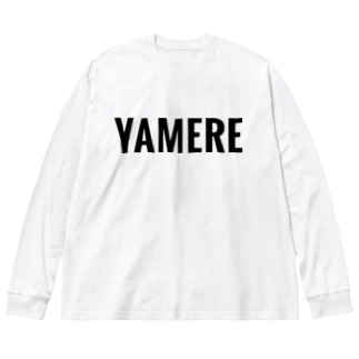 YAMERE Big silhouette long sleeve T-shirts