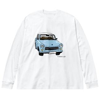 トラバント601  Big silhouette long sleeve T-shirts