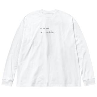 生きてる理由が見つからない」 Big silhouette long sleeve T-shirts