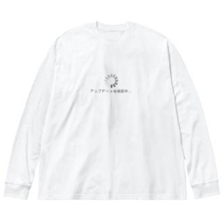 アップデートを検証中...02 Big silhouette long sleeve T-shirts