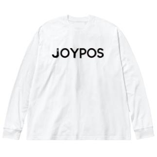 JOYPOSワードロゴ Big silhouette long sleeve T-shirts