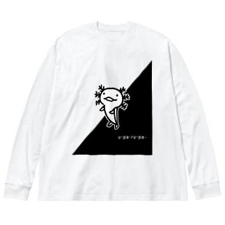 ウーパーくん Big silhouette long sleeve T-shirts
