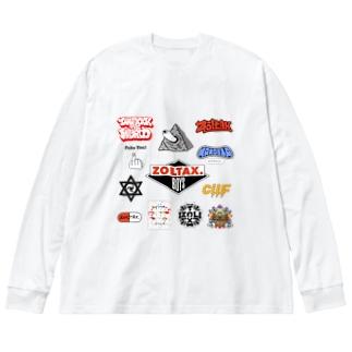 ギャラリー Big silhouette long sleeve T-shirts
