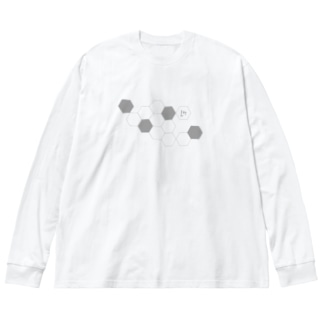 Ludens Big silhouette long sleeve T-shirts