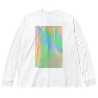 1/FのPlay of color 遊色  Big silhouette long sleeve T-shirts