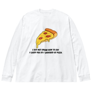 PIZZA collection Big Long Sleeve T-shirt