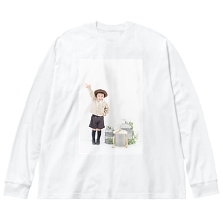 な Big silhouette long sleeve T-shirts