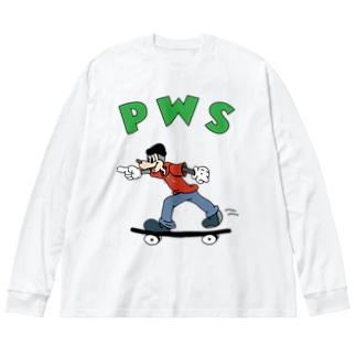 パウ君 collection Big Long Sleeve T-shirt