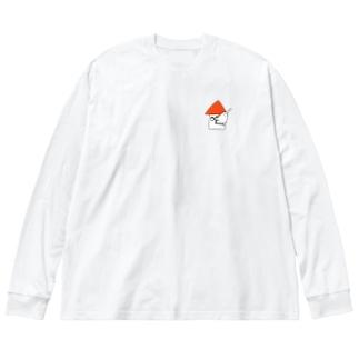 イエティ Big silhouette long sleeve T-shirts