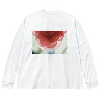 renoncule Big silhouette long sleeve T-shirts
