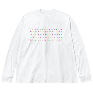 【コーヒー豆】キャンディービーンズ Big silhouette long sleeve T-shirts