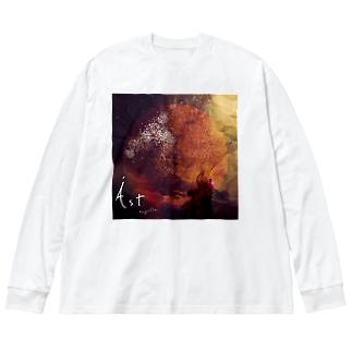 Ást goods Big silhouette long sleeve T-shirts