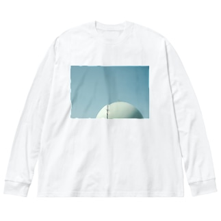きみはメロンとよんでいた? Big silhouette long sleeve T-shirts