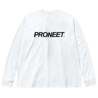 シンプルイズベストPRONEET Big silhouette long sleeve T-shirts
