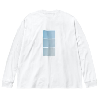 sora00b Big silhouette long sleeve T-shirts