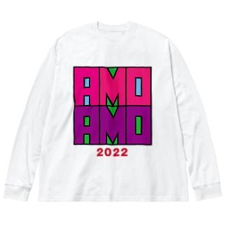 U.C.AMOAMO Big silhouette long sleeve T-shirts