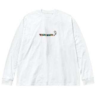 ヤニカス^^ Big silhouette long sleeve T-shirts