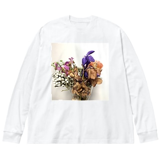 番外編 最後まで朽ちない Big silhouette long sleeve T-shirts