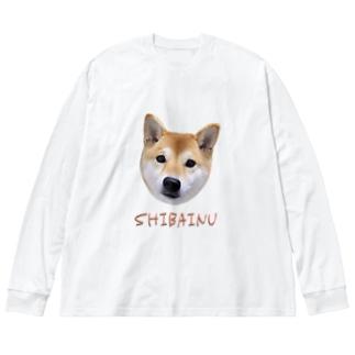 kawaii柴犬・改 Big Long Sleeve T-shirt