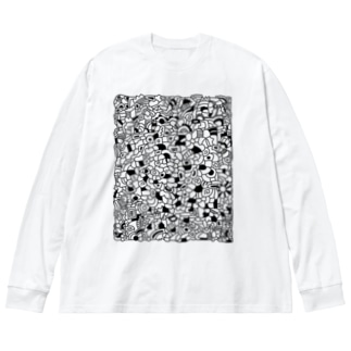 cells Big silhouette long sleeve T-shirts