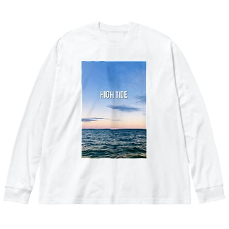 HIGH TIDE Big silhouette long sleeve T-shirts