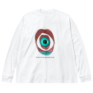 senseless Big silhouette long sleeve T-shirts