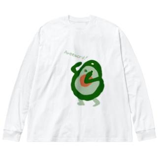 Avoguard! Big silhouette long sleeve T-shirts