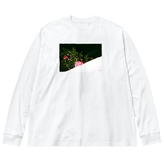 眼差 Big silhouette long sleeve T-shirts