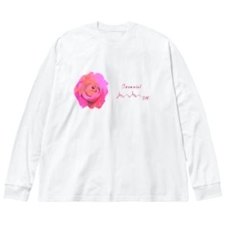 ゲラニオール Big silhouette long sleeve T-shirts