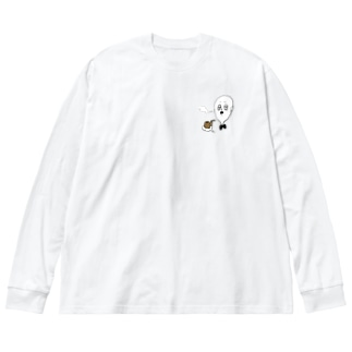 Ojijiiii Big silhouette long sleeve T-shirts