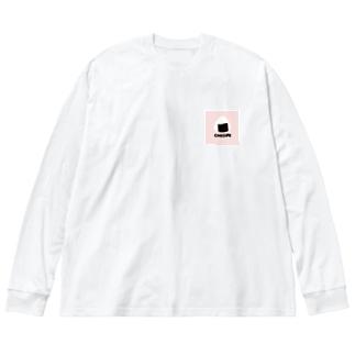 ONIGIRI Big silhouette long sleeve T-shirts