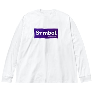 symbol Big silhouette long sleeve T-shirts