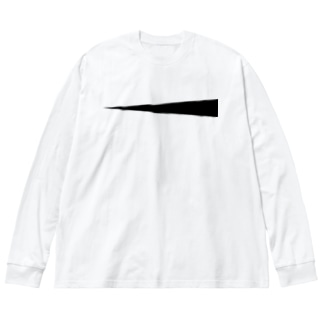frograph001 Big silhouette long sleeve T-shirts