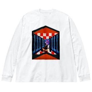 インテリジェンスプラント Big silhouette long sleeve T-shirts
