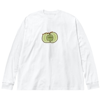 リトープス Big silhouette long sleeve T-shirts