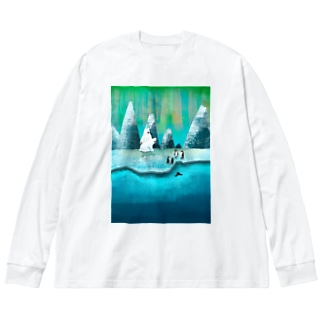 The arctic Big silhouette long sleeve T-shirts