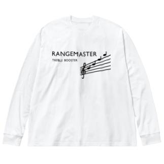 RANGEMASTER Big silhouette long sleeve T-shirts