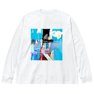 20200526 Big silhouette long sleeve T-shirts