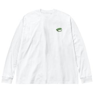 柏餅 Big silhouette long sleeve T-shirts