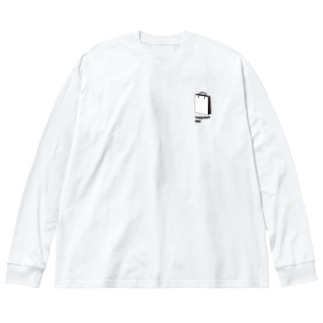 お持ち帰りOK! Big silhouette long sleeve T-shirts